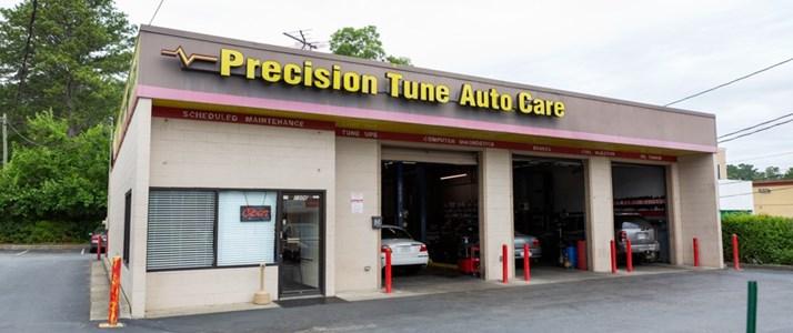 Precision Tune Auto Care Oil Change Coupon