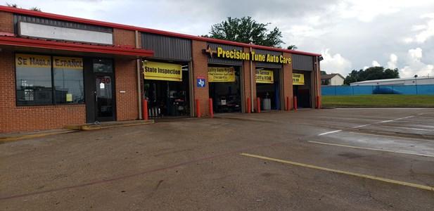 dallas texas auto maintenance  repair shop precision tune auto care