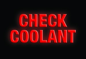Low Coolant Level Warning Light